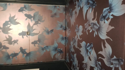 Heampsted Heath private house - wallcovering